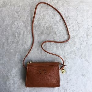 Vintage Dooney & Bourke Brown Crossbody Mini Bag
